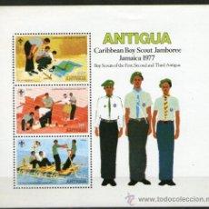 Sellos: BOY SCOUTS - ANTIGUA. Lote 35291024