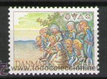 BOY SCOUTS - DINAMARCA (Sellos - Temáticas - Boy Scout)