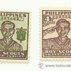 Sellos: BOY SCOUTS. LOTE DE SELLOS DE FILIPINAS. NUEVO GRAN CALIDAD. Lote 35479961