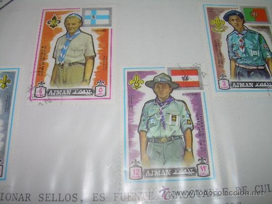 Sellos: LOTE DE CUATRO SELLOS...AJMAN - Foto 2 - 37089399
