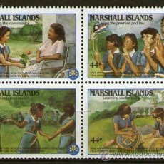 Stamps - Boy Scouts - Islas Marshall - 37351322