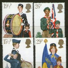 Stamps - Boy Scouts - Inglaterra - Año 1982 - 37351525