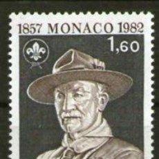 Sellos: BOY SCOUTS - MÓNACO - AÑO 1982 . Lote 37582385