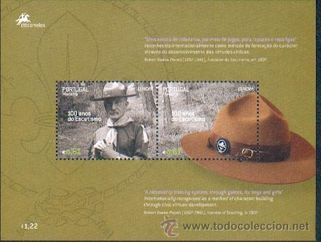 PORTUGAL ** & EUROPA, MADEIRA 100 ANOS DO ESCUTISMO 2007 (Sellos - Temáticas - Boy Scout)