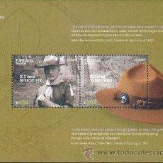 Sellos: PORTUGAL ** & EUROPA, MADEIRA 100 ANOS DO ESCUTISMO 2007. Lote 39343186