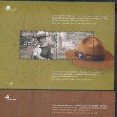 Sellos: PORTUGAL ** & EUROPA, COLEÇÃO 100 ANOS DO ESCUTISMO 2007. Lote 212590265
