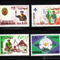 Sellos: SOMALIA 70/73** - AÑO 1967 - MOVIMIENTO SCOUT. Lote 40422776