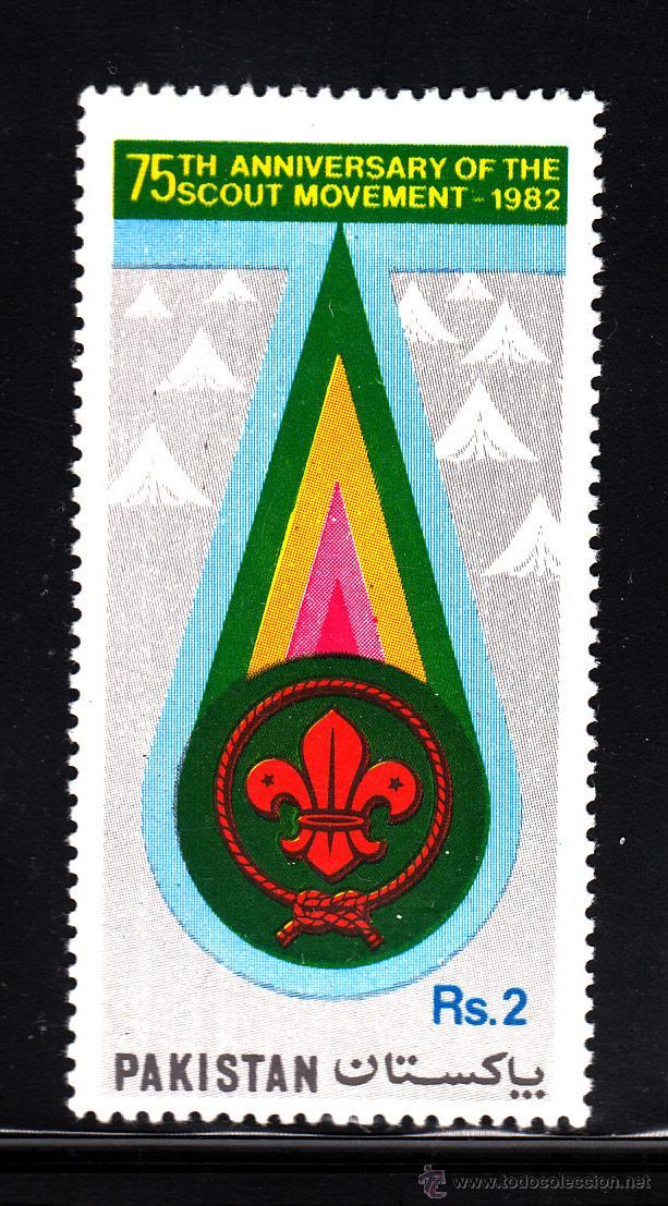 PAKISTAN 563** - AÑO 1982 - 75º ANIVERSARIO DEL MOVIMIENTO SCOUT (Sellos - Temáticas - Boy Scout)