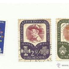 Sellos: SELLOS LUXEMBURGO BOY SCOUTS, OFERTA. Lote 41478813