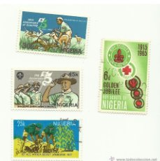 Stamps - LOTE SELLOS BOY SCOUTS NIGERIA - 41478836