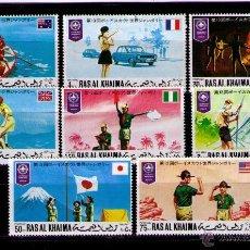 Sellos: RAS AL KHAIMA 1971 - BOY SCOUTS - YVERT Nº 69. Lote 42269149