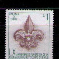 Sellos: CHILE 1971 - BOY SCOUTS - YVERT Nº 361. Lote 42269164