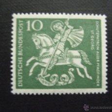 Sellos: ALEMANIA FEDERAL Nº YVERT 219*** AÑO 1961. 50 ANIVERSARIO DEL SCOUTISMO EN ALEMANIA. Lote 42427342