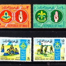 Stamps - IRAK 501/04* - AÑO 1968 - MOVIMIENTO SCOUT - 46399524
