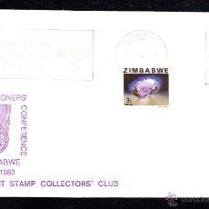 Sellos: ZIMBABWE - AÑO 1980 - CONFERENCIA ANUAL SCOUT DE COMISIONADOS EN ZIMBABWE. Lote 46461660