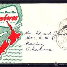 Sellos: NUEVA ZELANDA SPD 374 - AÑO 1959 - JAMBOREE SCOUT PAN PACIFIC DE AUCKLAND. Lote 46552696