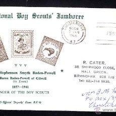 Sellos: NUEVA ZELANDA SPD 437 - AÑO 1966 - 4º JAMBOREE SCOUT NACIONAL. Lote 46552736