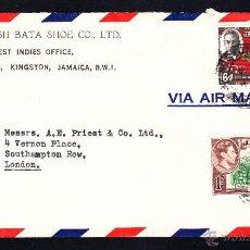 Sellos: JAMAICA 159 - AÑO 1951 - 1º CONFERENCIA SCOUT DEL CARIBE. Lote 49456178
