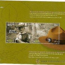 Sellos: PORTUGAL **& EUROPA MADEIRA 100 ANOS DE ESCUTISMO, BADEN POWELL 2007 (355) . Lote 49942472