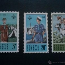 Stamps - CHIPRE CYPRUS YVERT 212 A 214 ** 1963 - 50339458