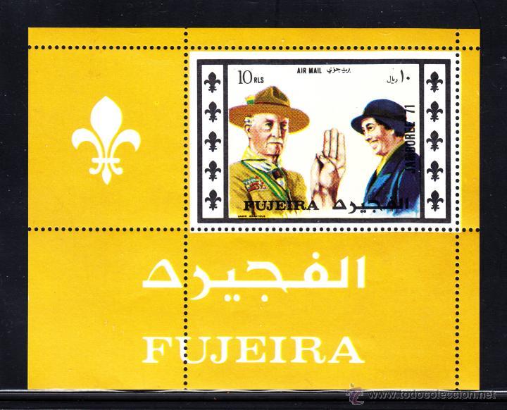 FUJEIRA 117 HB** - AÑO 1971 - JAMBOREE MUNDIAL SCOUT DE JAPON (Sellos - Temáticas - Boy Scout)