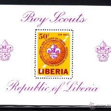 Sellos: LIBERIA HB 32** - AÑO 1965 - MOVIMIENTO SCOUT DE LIBERIA. Lote 51056535