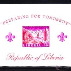 Sellos: LIBERIA HB 39** SIN DENTAR - AÑO 1967 - SCOUT - JAMBOREE MUNDIAL DE IDAHO. Lote 51133882