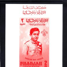 Stamps - SHARJAH HB 9** - AÑO 1964 - SCOUT - MOVIMIENTO SCOUT - 52306267