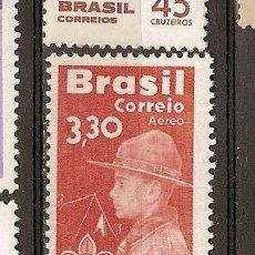 Sellos: BRASIL ** & AEREO, 50 ANOS DE ESCOTISMO NO BRASIL 1960 (90). Lote 53292720