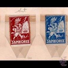 Sellos: 004 BOY SCOUTS - UKRANIA - RARA SERIE DE VIÑETAS CONMEMORATIVAS JAMBOREE 1947 . Lote 53390540