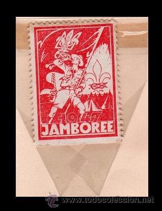 Sellos: 004 BOY SCOUTS - UKRANIA - Rara Serie de viñetas conmemorativas JAMBOREE 1947 - Foto 2 - 53390540