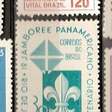 Sellos: BRASIL * & IV CENTENÁRIO DO JAMBOREE PAN AMERICANO, RIO DE JANEIRO 1965 (779). Lote 53576976