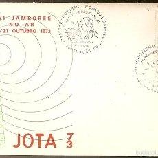 Sellos: PORTUGAL & FDC ANGOLA ULTRAMAR, XV JAMBOREE NA RÁDIO, ESCUTISMO PORTUGUÊS, LISBOA 1973 (3). Lote 55144248