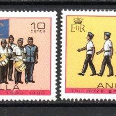 Timbres: ANGUILLA 500/01** - AÑO 1983 - SCOUT - CENTENARIO DE LA BOYS BRIGADA. Lote 58355924