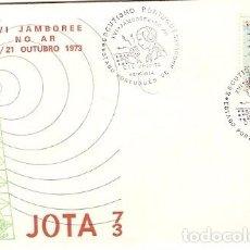 Sellos: ANGOLA & FDC ULTRAMAR, XV JAMBOREE EN RADIO, SCOUTING PORTUGUÉS EN BENGUELA 1973 (382). Lote 81598908