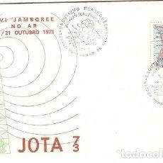 Sellos: ANGOLA & FDC ULTRAMAR, XV JAMBOREE EN RADIO, SCOUTING PORTUGUÉS EN LOBITO 1973 (382). Lote 81599764