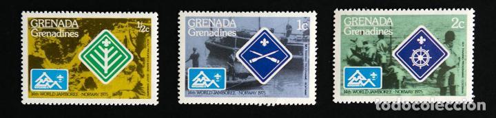 Sellos: Sellos temática boy scouts Grenada, Grenadines Diferentes VENDO SUELTOS - Foto 2 - 90648260