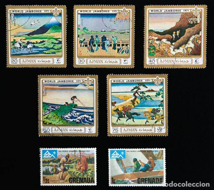 Sellos: Sellos temática boy scouts Diferentes VENDO SUELTOS - Foto 4 - 90648760