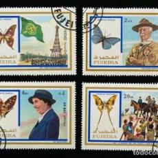 Sellos: SELLOS TEMÁTICA BOY SCOUTS LIBERIA JAMBOREE 1971 SELLOS SUELTOS. Lote 90717485