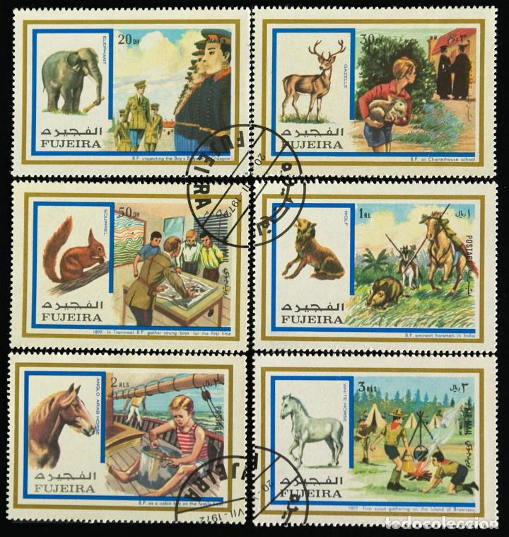 Sellos: Sellos temática boy scouts Liberia Jamboree 1971 sellos sueltos - Foto 2 - 90717485