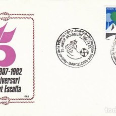 Sellos: AÑO 1983, 75 AÑO DEL MOVIMIENTO BOY SCOUT MATASELLO 26-12-1983 CON SELLO BOY SCOUT, SOBRE OFICIAL . Lote 94402390