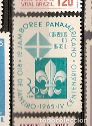 BRASIL ** & IV CENTENÁRIO DO JAMBOREE PAN AMERICANO, RIO DE JANEIRO 1965 (779) (Sellos - Temáticas - Boy Scout)