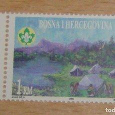 Sellos: BOSNIA HERZEGOVINA 2002 MICHEL 264 YVERT 371 SCOTT 408 ANIVERSARIO MOVIMIENTO BOY SCOUT. Lote 95174095