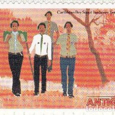 Sellos: 1977 - ANTIGUA - MOVIMIENTO SCOUT JAMAICA - EXCURSIONISMO - YVERT 456. Lote 102849283