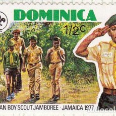 Sellos: 1977 - DOMINICA - ENCUENTRO BOY SCOUT JAMAICA - YVERT 524. Lote 105959899