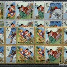 Sellos: BHUTAN, BUTÁN, SELLOS, BOY SCOUTS, STAMPS SOUVENIR 1967. Lote 119339207