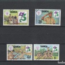 Sellos: SAMOA Nº 509 AL 512(**). Lote 121417539