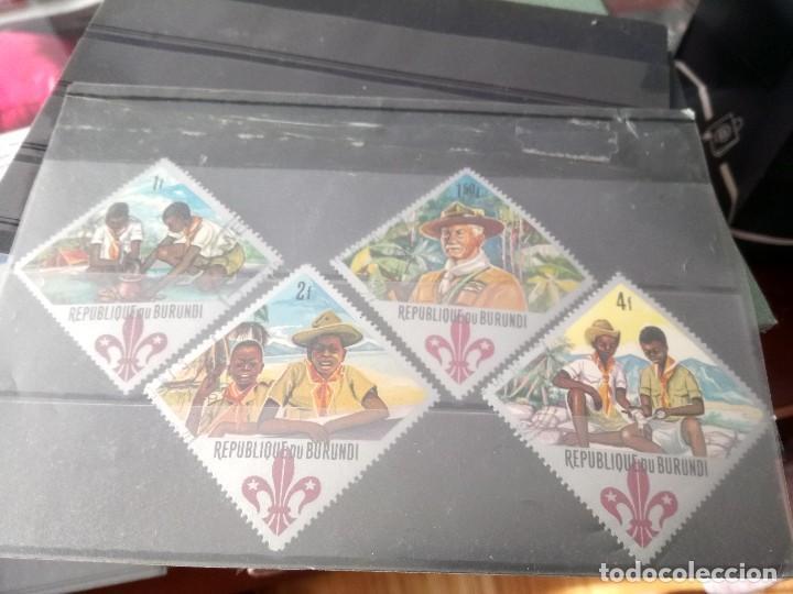 BOY SCOUTS, SELLOS DE BURUNDI (Sellos - Temáticas - Boy Scout)