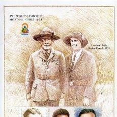 Sellos: SIERRA LEONA - 19 JAMBOREE MUNDIAL - CHILE 1998. Lote 129224103