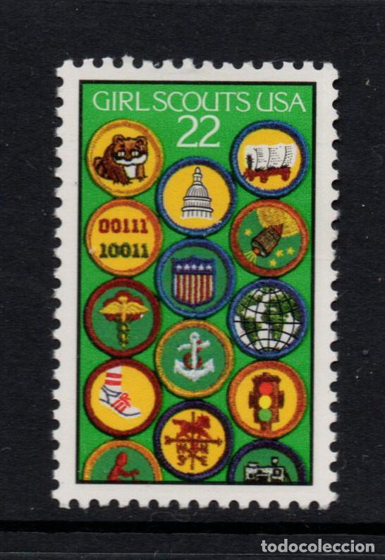 ESTADOS UNIDOS 1702** - AÑO 1987 - 75º ANIVERSARIO DEL MOVIMIENTO SCOUT FEMENINO EN ESTADOS UNIDOS (Sellos - Temáticas - Boy Scout)